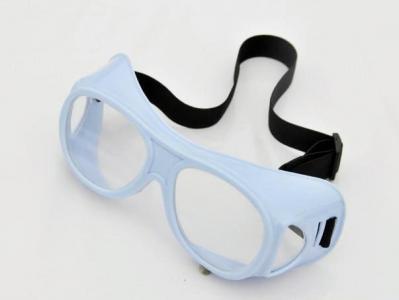 高透明防辐射铅眼镜